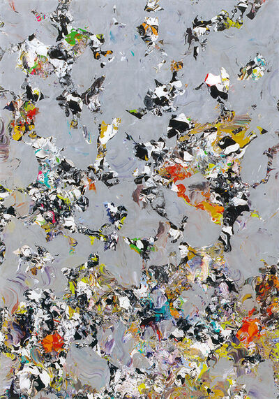 Michael Burges, 'Reverse Glass Painting No.44-2011', 2011