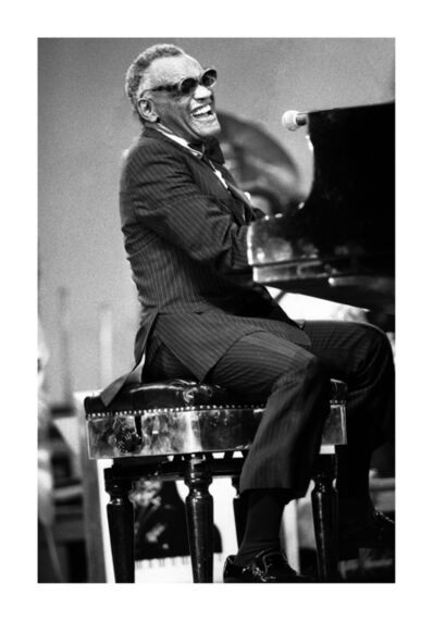 Marco D'Anna, 'Ray Charles', 1986