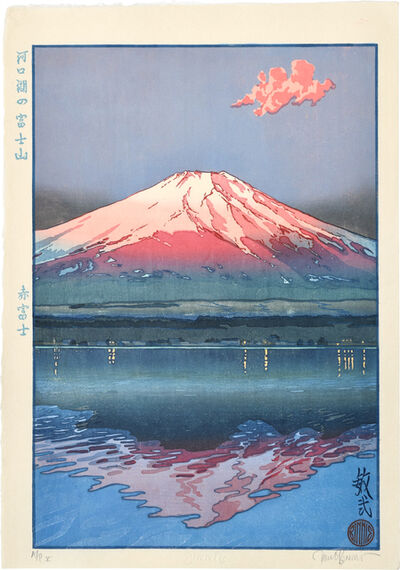 Paul Binnie, 'Famous Views of Japan: Famous Views of Japan: Red Fuji, Fuji from Lake Kawaguchi', 2002
