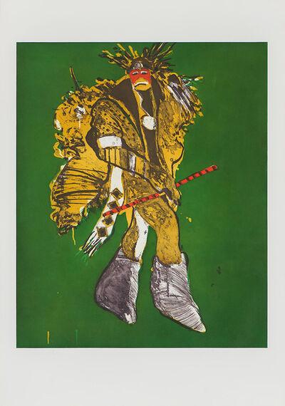 Fritz Scholder, 'Fancy Dancer in Roma', 1978