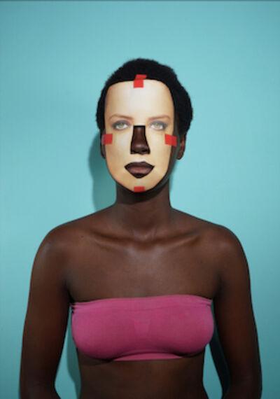 Keyezua, 'AFROEUCENTRIC FACE ON - Amber 03', 2016