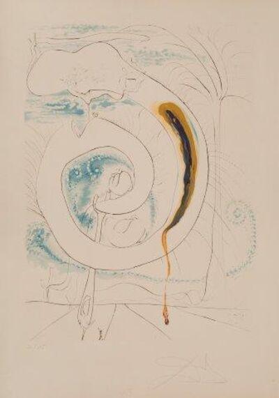 Salvador Dalí, 'Le Cercle visceral du cosmos [Michler & Löpsinger 647]', 1974