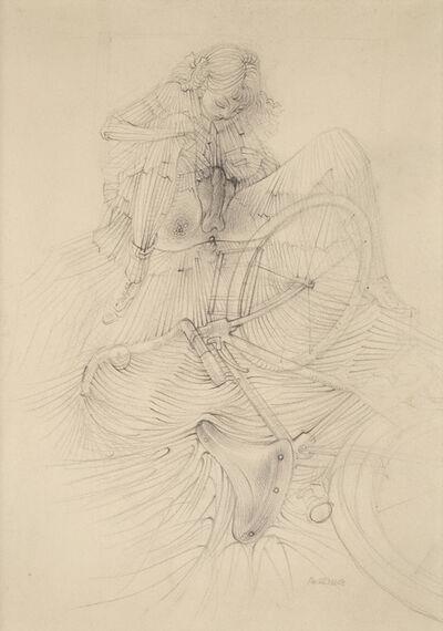 Hans Bellmer, 'Sans titre, étude pour 'La bicyclette' d'Histoire de l'Oeil', ca. 1946