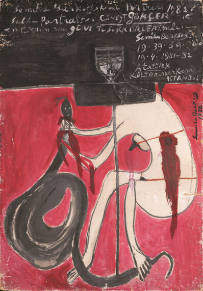 Semíha Berksoy, 'The Victory of Art (Self-portrait)', 1972