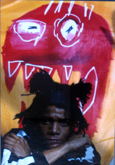Gianfranco Gorgoni, 'Jean-Michel Basquiat (New York City)', 1983