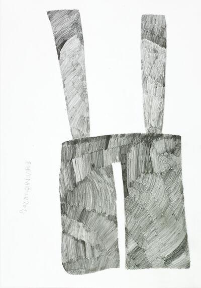 Günther Schützenhöfer, 'trousers with holders', 2015