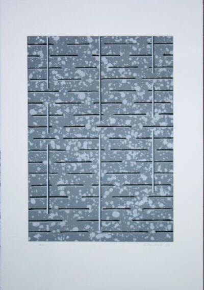 Juhana Blomstedt, 'Grey Background Shapes H.C.', 1982