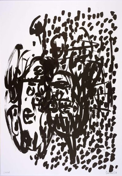Georg Baselitz, 'Suite 45: One plate', 1990