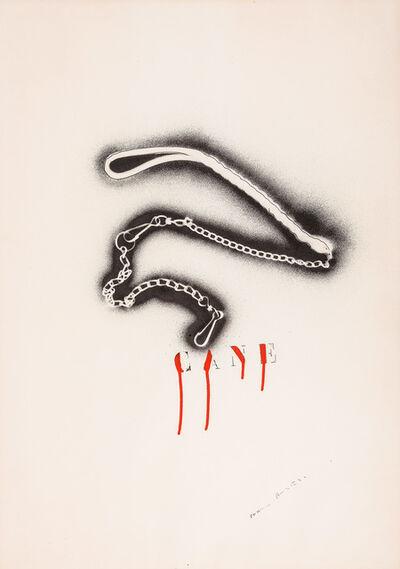 Franco Angeli, 'Senza titolo (Cane)', anni '70