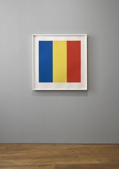 Ellsworth Kelly, 'Blue Yellow Red', 1990