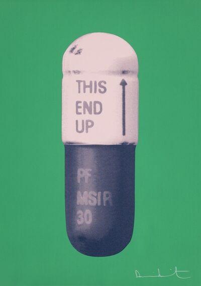 Damien Hirst, 'The Cure - Emerald Green/Powder Pink/Victorian Purple', 2014