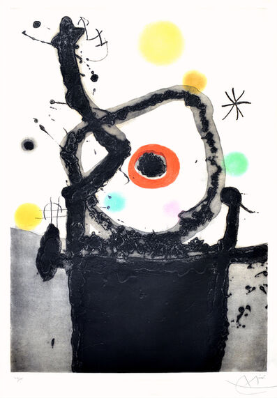 Joan Miró, 'Le Rebelle (The Rebel)', 1967