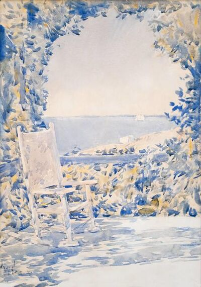 Childe Hassam, 'A Shady Spot', 1892