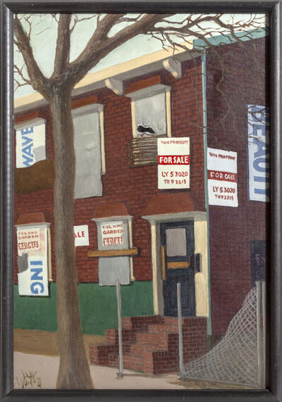 William Waithe, 'Foreclosed House', 1980