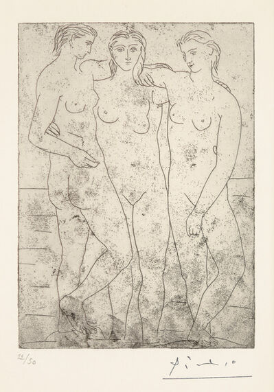 Pablo Picasso, 'LES TROIS BAIGNEUSES II', 1923
