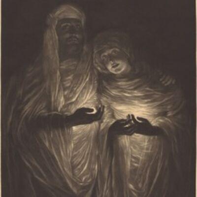 James Jacques-Joseph Tissot, 'The Apparition', 1885