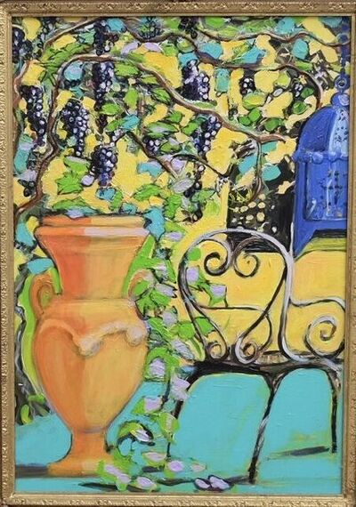 Janet Lance Hughes, 'Italian Urn with Grapevine ', 2019