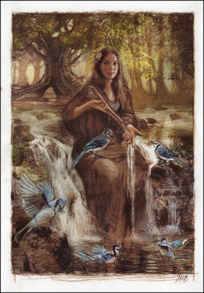 Thomas Haller Buchanan, 'Spirit of the Waterfall'