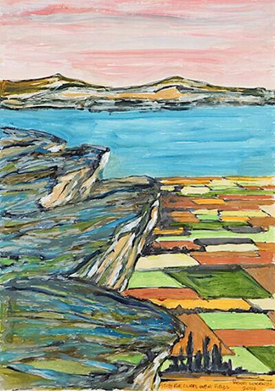 Henri Lorenzi, 'Study for Cliffs Over Fields ', 2014