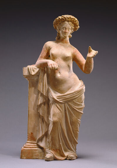 'Statuette of Aphrodite Leaning on a Pillar', 250 -200 BCE