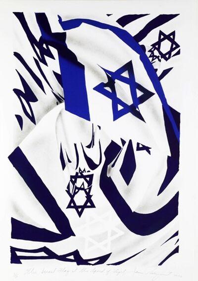 James Rosenquist, 'Israel Flag at the Speed of Light', 2006