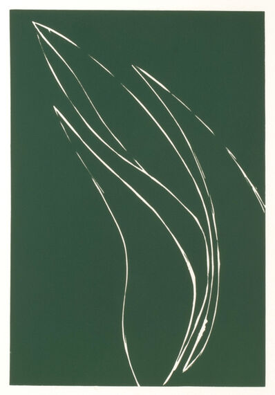 Donald Sultan, 'French Iris I', 1982