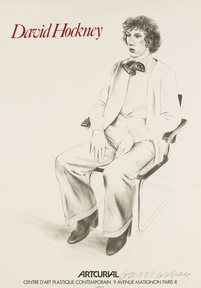 David Hockney, 'Gregory Evans (Baggott 57/77)', 1976