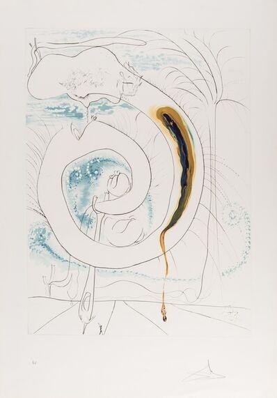 Salvador Dalí, 'Le Cercle Viscéral du Cosmos (Field 74-12-D; M&L 647)', 1974