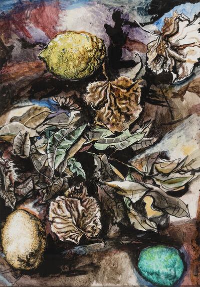 Renato Guttuso, 'Leaves and lemons', 1965