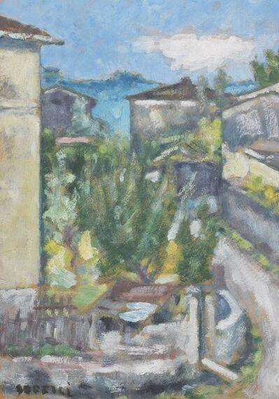 Ardengo Soffici, 'Case al Poggio', ca. 1962