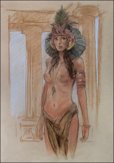 Thomas Haller Buchanan, 'Goddess of Eternity (Preliminary)'