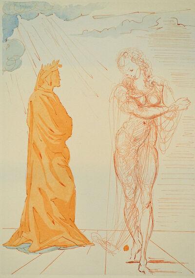Salvador Dalí, 'Virgil Comforts Dante, Inferno canto 2', 1960
