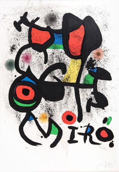 Joan Miró, 'Bronzes Exhibition, Hayward Gallery, London', 1972