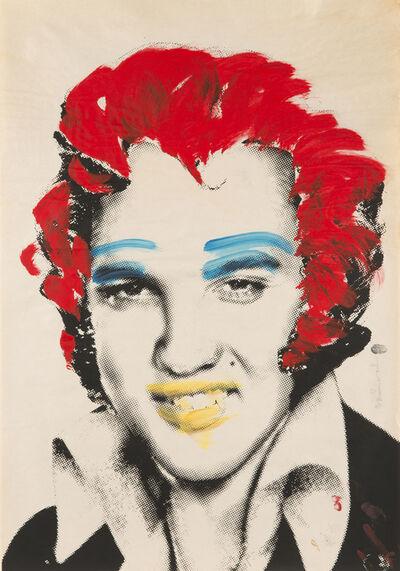 Mr. Brainwash, 'Elvis (Red Hair)', 2009