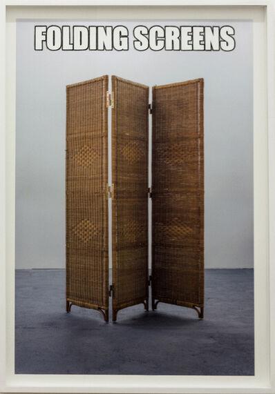Cristina Garrido, '#FOLDINGSCREENS', 2015