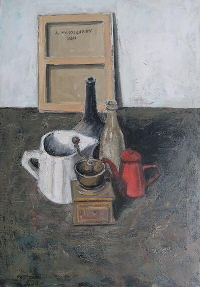 Albert Hadjiganev, 'Parterre d'atelier II',