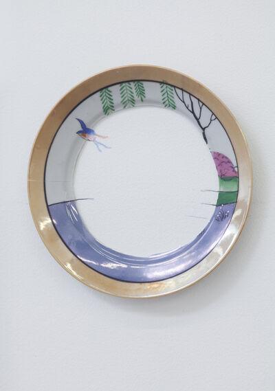 Liliana Porter, 'Reconstrucción: paisaje chino', 2015