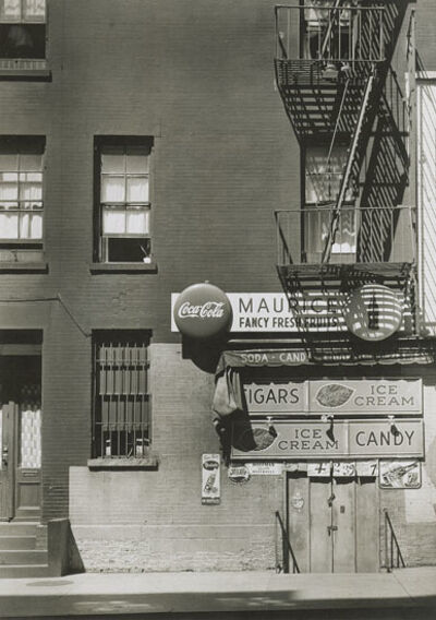 Manuel De Aumente, 'Fire Escape and Front of Store with Signage, NYC', 1940s
