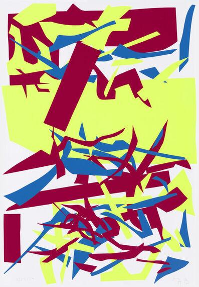 Imi Knoebel, 'Red Yellow Blue', 1994