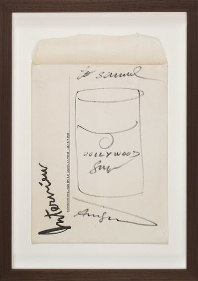 Andy Warhol, 'Untitled (Interview Hollywood Soup)', ca. 1982