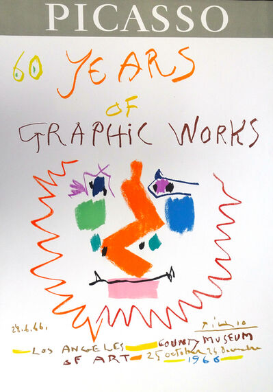 Pablo Picasso, 'Picasso 60 Years of Graphic Works Los Angeles 1966', 1966