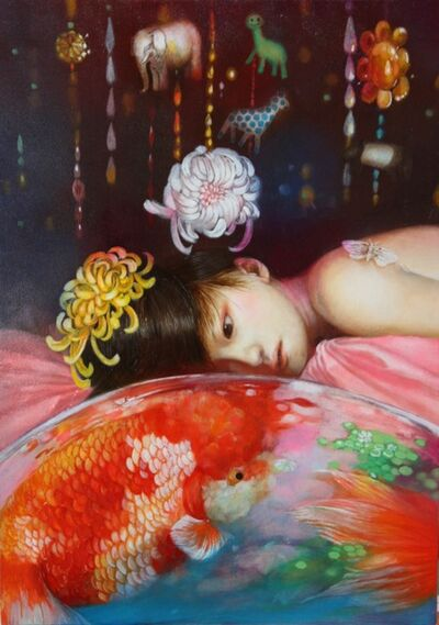 Sachiyo Aoyama, 'Goldfish Bowl at Midnight', 2009
