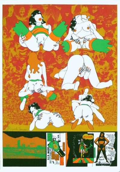 Keiichi Tanaami, 'American Celluloid 2/20', 1971