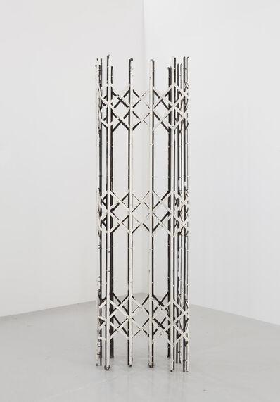 Sofia Hultén, 'Scherengitter 1 (white)', 2014