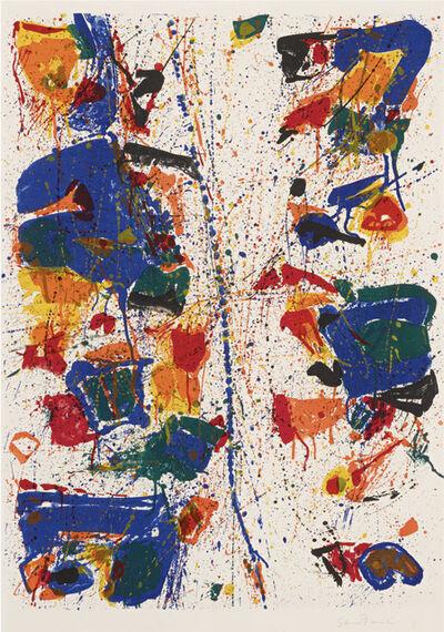 Sam Francis, 'The White Line', 1960