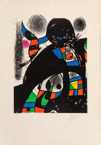 Joan Miró, 'San Lazzaro et ses amis', 1975