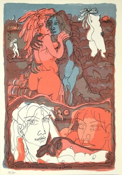 Tono Zancanaro, 'Girls', 1973