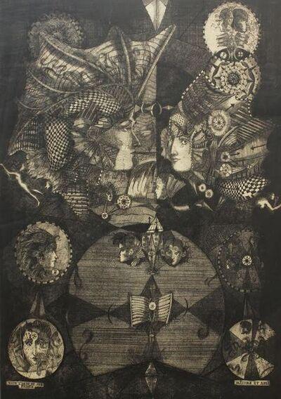 Burt Hasen, 'Narcissus; Homage to Max Ernst', 1975