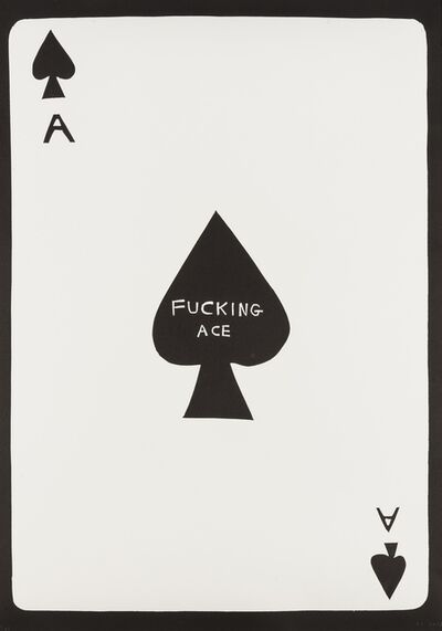 David Shrigley, 'Fucking Ace', 2018