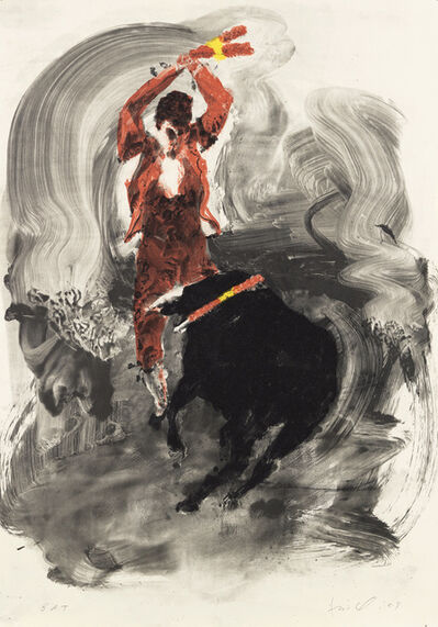Eric Fischl, 'Untitled (Bullfight 1)', 2009